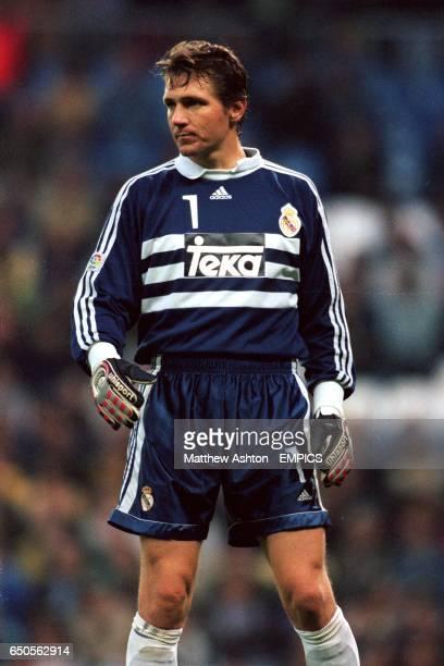 Real Madrid's Goalkeeper Bodo Illgner