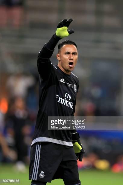 Real Madrid's Keylor Navas