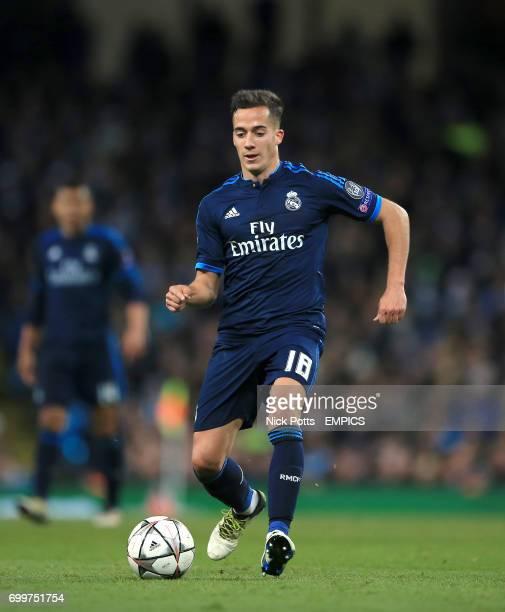 Real Madrid's Lucas Vazquez