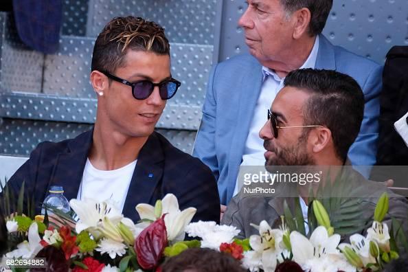 Cristiano Ronaldo at Mutua Madrid Open - Day Eight : News Photo