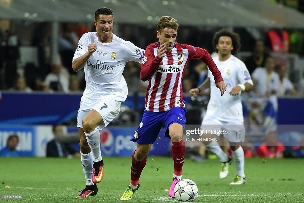 FBL-EUR-C1-REALMADRID-ATLETICO : News Photo
