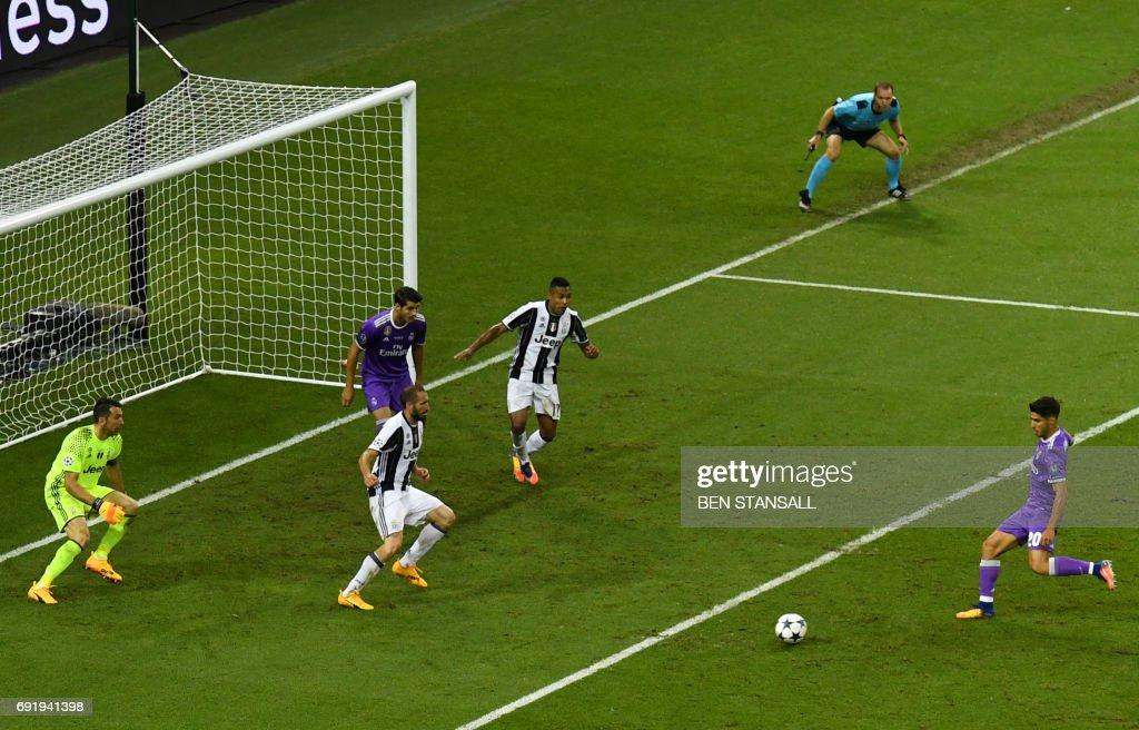 هدف ريال مدريد الرابع في مرمى يوفنتوس