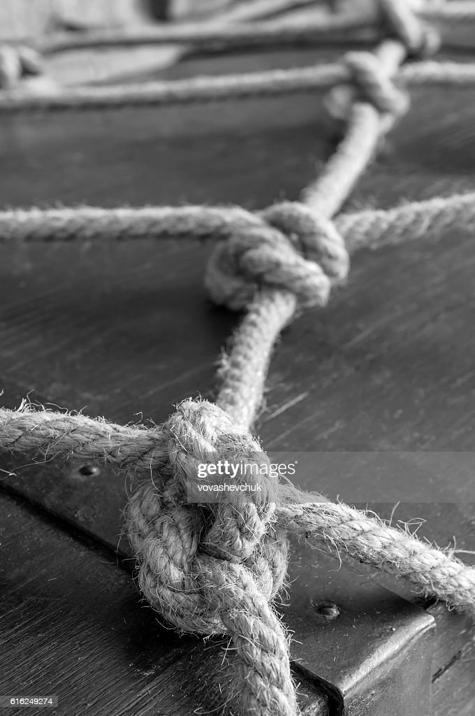 real marine knots : Foto de stock