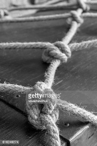 real marine knots : Foto de stock