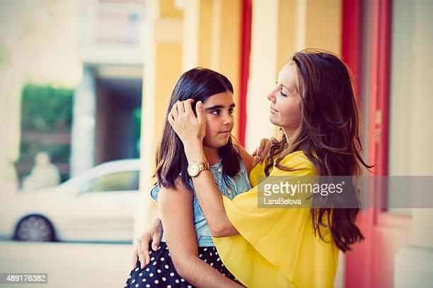 Real mère et fille