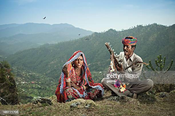 Gens de l'Inde rurale: Chanteurs traditionnels du Rajasthan
