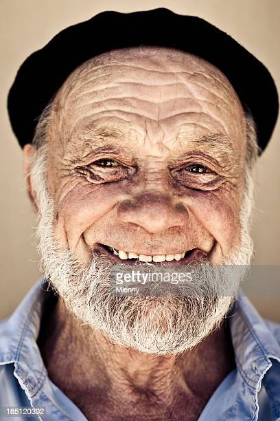 Real People: Smiling Senior Man Portrait