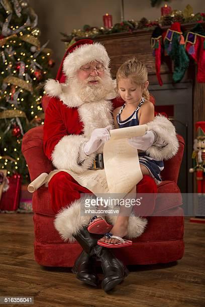 Real Babbo Natale lettura sexy bella elenco