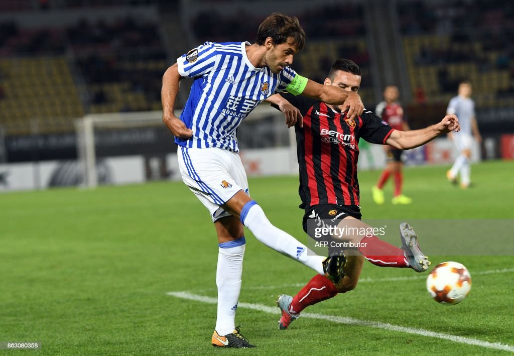 Vardar Skopje v Real Sociedad - UEFA Europa League