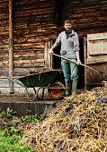Real Swiss Alpine farmer