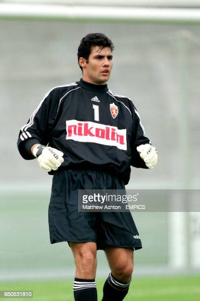 Real Zaragoza's Goalkeeper Juanmi