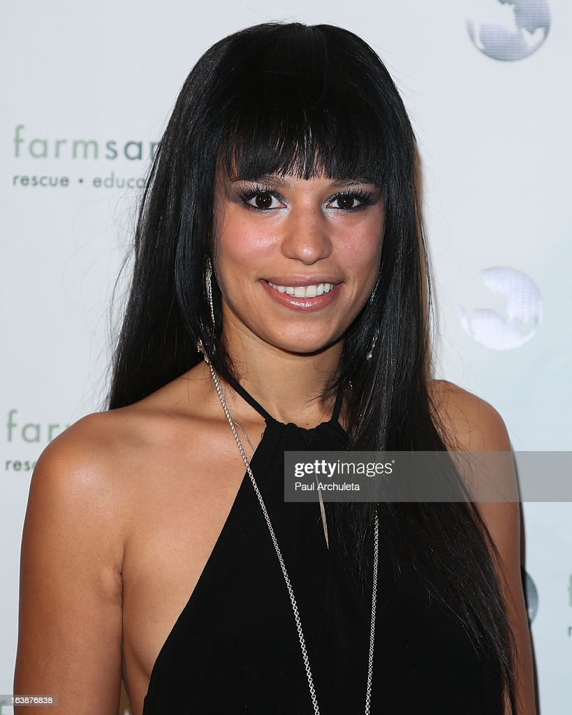 Realality TV Personality Sarah Dawson attends the 'Fun For Animals' celebrity poker tournament at Petersen Automotive Museum on March 16, 2013 in Los Angeles, California.