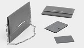 Realistic 3D Render of Leather Accessories