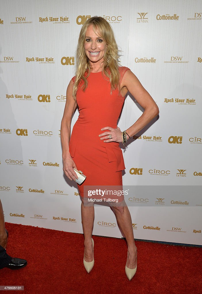 Reality actress <a gi-track='captionPersonalityLinkClicked' href=/galleries/search?phrase=Taylor+Armstrong&family=editorial&specificpeople=6903739 ng-click='$event.stopPropagation()'>Taylor Armstrong</a> attends OK! Magazine's Pre-Oscar Party at Greystone Manor Supperclub on February 27, 2014 in West Hollywood, California.