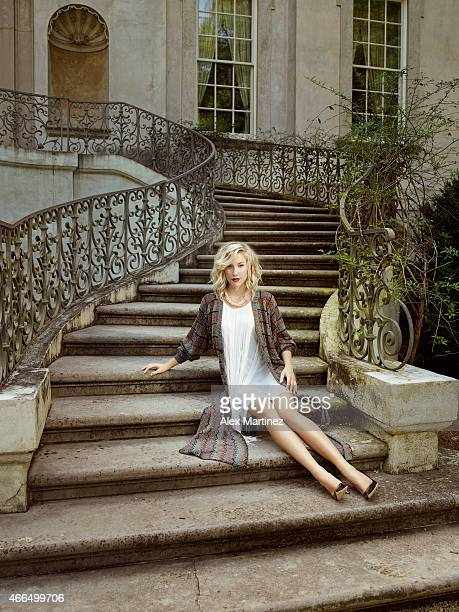Reality personality Savannah Chrisley is photographed for Eide Magazine on August 24 2014 at the Swan House in Atlanta Georgia PUBLISHED IMAGE