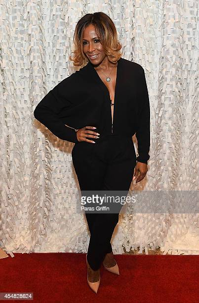 Reality personality Sheree Whitfield attends The Live Die For Hip Hop Black Out Gala at Woodruff Arts Center on September 6 2014 in Atlanta Georgia