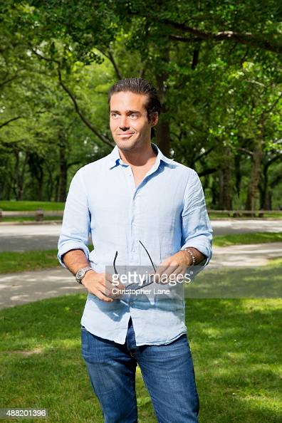 Reality personality Spencer Matthews is photographed for on June 26 2014 in New York City