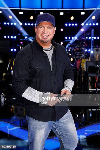 THE VOICE '1114 Reality' Pictured Garth Brooks