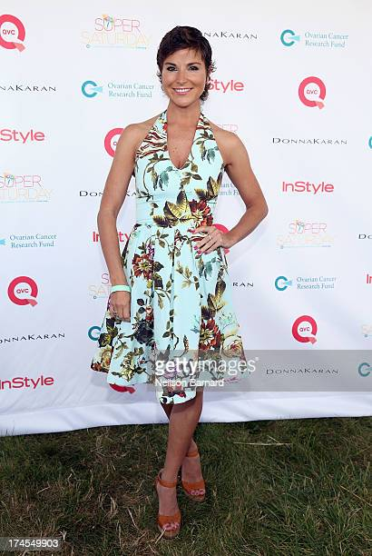 Reality Star and Ovarian Cancer Survivor and Advocate Diem Brown attends QVC Presents Super Saturday LIVE at Nova's Ark Project on July 27 2013 in...