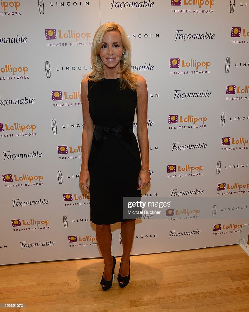 Reality star Camille Grammer attends the Faconnable Kicks Off The Holidays Shopping Event Benefitting Lollipop Theater Network at Faconnable on November 13, 2012 in Beverly Hills, California.