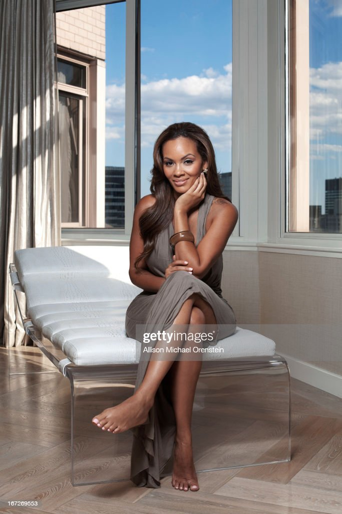 TV reality star Evelyn Lozada for People Magazine on August 29, 2012 in New York City. PUBLISHED IMAGE.