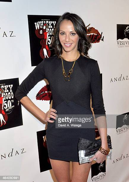 Reality star Kristen Doute arrives at the Martha Davis The Motels concert at Whisky a Go Go on January 19 2014 in West Hollywood California