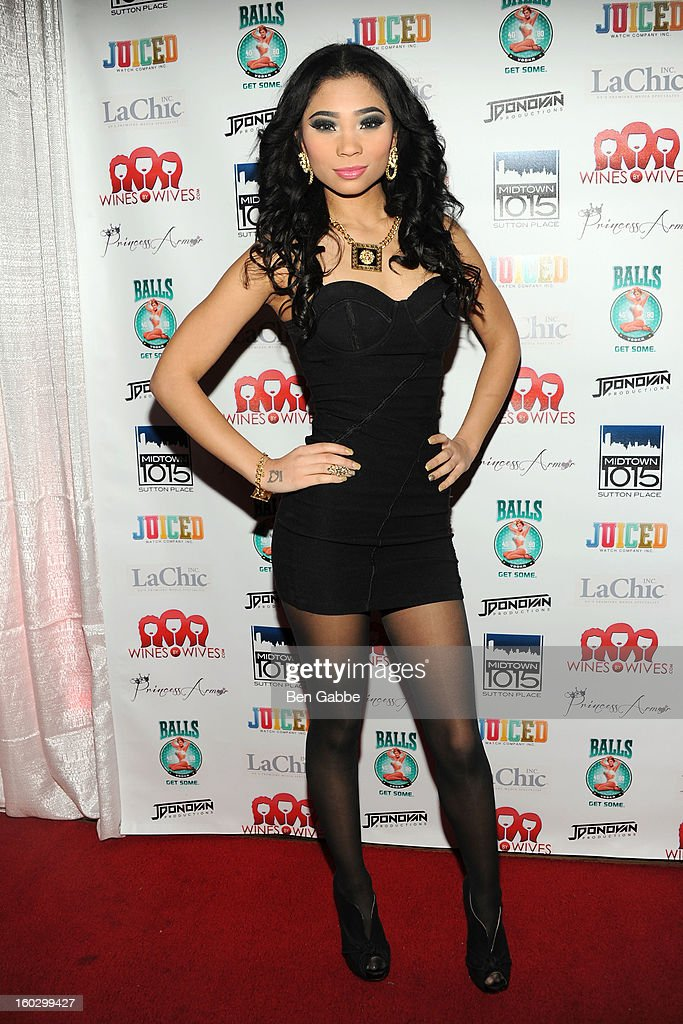 Reality Star Stephanie George attends 'Jerseylicious' Season 5 Premiere Party at Midtown Sutton on January 28, 2013 in New York City.