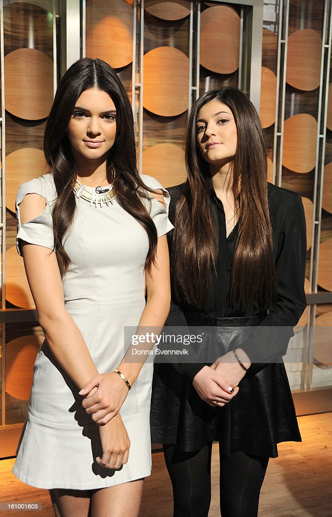 AMERICA - Reality stars Kendall and Kylie Jenner share hot spring trends for teens on 'Good Morning America,' 2/8/13, airing on the ABC Television Network. (Photo by Donna Svennevik/Disney-ABC via Getty Images)KYLIE