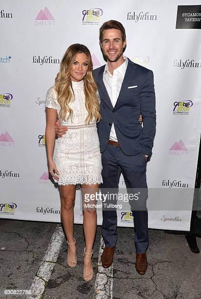 Reality television personalities Becca Tilley and Robert Graham attend 'The Bachelor' Charity Premiere Party in support of SheLift and Globeathon at...