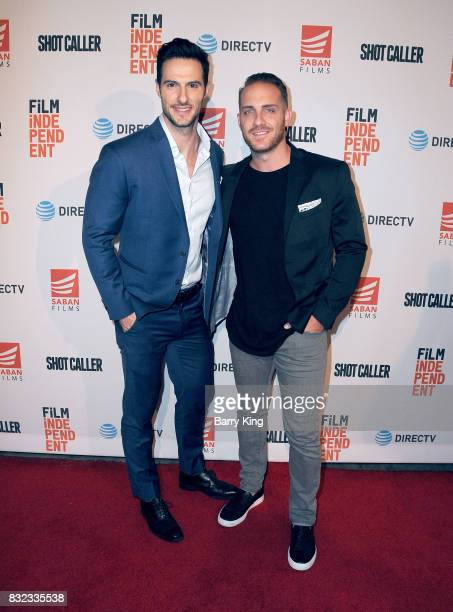 Reality television personalities Daniel Maguire and Vinny Ventiera attend screening of Saban Films and DIRECTV's' 'Shot Caller' at The Theatre at Ace...
