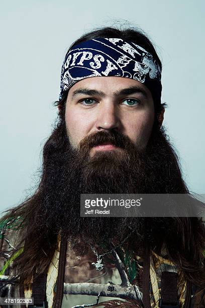 Reality television personalities from Duck Dynasty Jep Robertson is photographed for GQ Magazine on October 24 2013 in West Monroe Louisiana