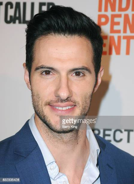 Reality television personality Daniel Maguire attends screening of Saban Films and DIRECTV's' 'Shot Caller' at The Theatre at Ace Hotel on August 15...