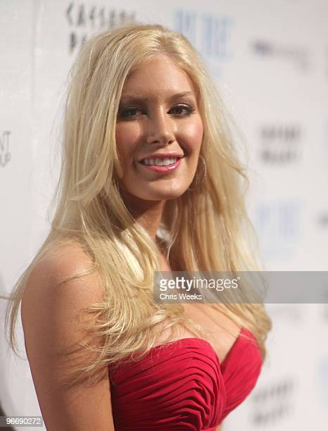 Reality television personality Heidi Montag attends Pure Nightclub on February 13 2010 in Las Vegas Nevada