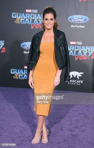 Reality Television personality JoJo Fletcher attends world premiere of Disney and Marvel's' 'Guardians Of The Galaxy 2' at Dolby Theatre on April 19...