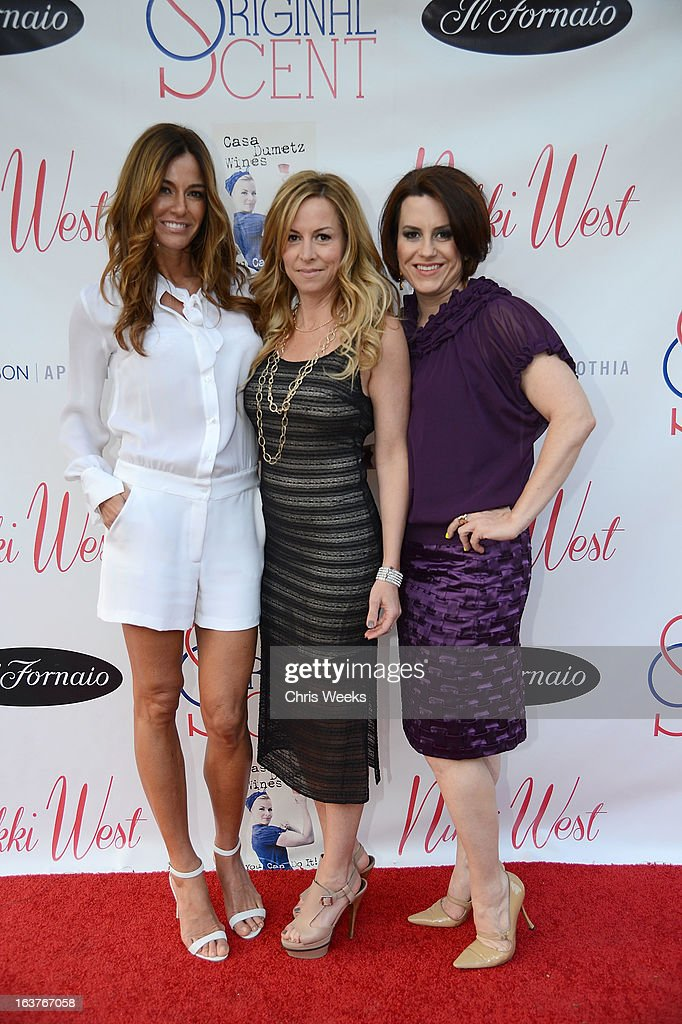 Reality television personality Kelly Bensimon and Marley Majcher attends the Original Scent launch at Nikki West Boutique on March 14, 2013 in Pasadena, California.