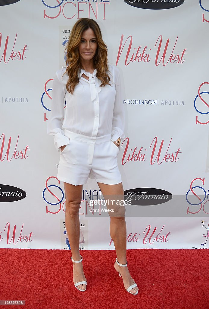 Reality television personality Kelly Bensimon attends the Original Scent launch at Nikki West Boutique on March 14, 2013 in Pasadena, California.