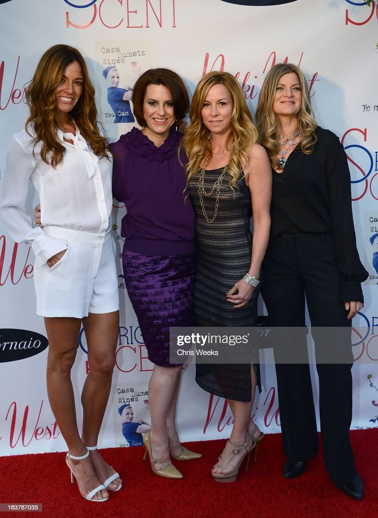 Reality television personality Kelly Bensimon, Marley Majcher and Sarah Horowitz attend the Original Scent launch at Nikki West Boutique on March 14, 2013 in Pasadena, California.