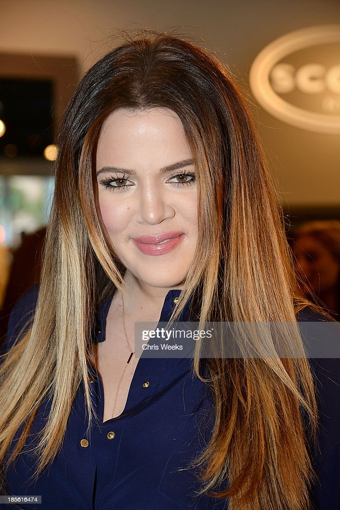 Reality television personality <a gi-track='captionPersonalityLinkClicked' href=/galleries/search?phrase=Khloe+Kardashian&family=editorial&specificpeople=3955023 ng-click='$event.stopPropagation()'>Khloe Kardashian</a> attends the Scoop NYC event at Scoop NYC on October 22, 2013 in Beverly Hills, California.