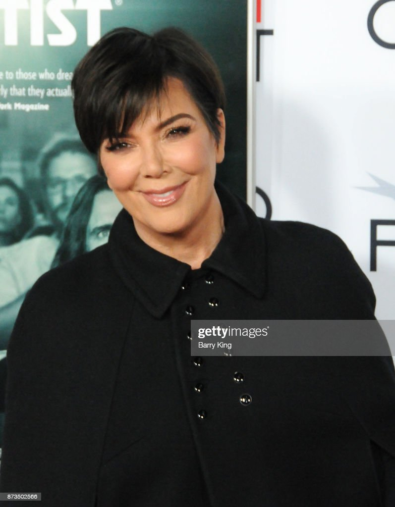 Reality Television personality Kris Jenner attends AFI FEST 2017 Presented By Audi - Screening Of 'The Disaster Artist' at TCL Chinese Theatre on November 12, 2017 in Hollywood, California.