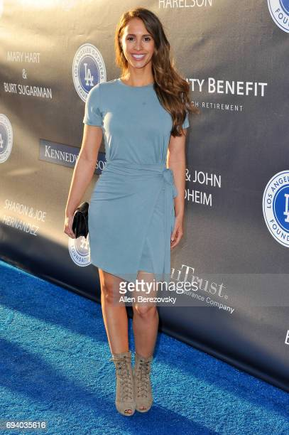 Reality Television personality Vanessa Grimaldi attends Los Angeles Dodgers Foundation's 3rd Annual Blue Diamond Gala at Dodger Stadium on June 8...