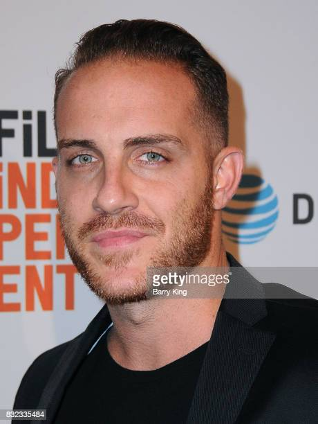 Reality television personality Vinny Ventiera attends screening of Saban Films and DIRECTV's' 'Shot Caller' at The Theatre at Ace Hotel on August 15...
