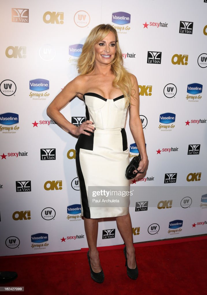 Reality TV Persona Taylor Armstrong attends OK! Magazine's Pre-Oscar party at The Emerson Theatre on February 22, 2013 in Hollywood, California.