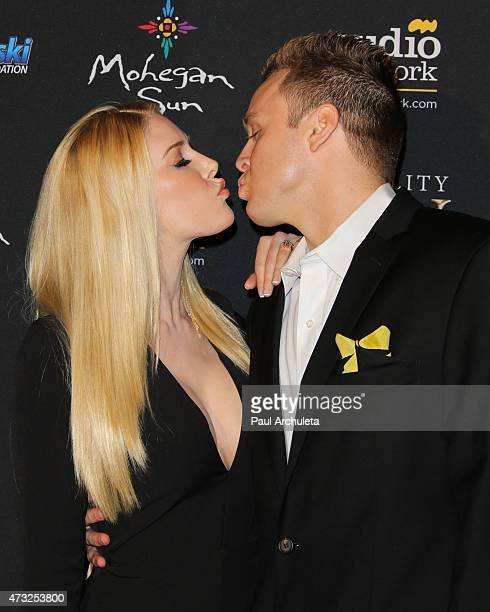Reality TV Personalities Heidi Montag and Spencer Pratt attend the 3rd annual Reality TV Awards at Avalon on May 13 2015 in Hollywood California