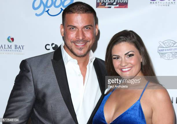 Reality TV Personalities Jax Taylor and Brittany Cartwright attend the 2nd annual Vanderpump Dog Foundation Gala at Taglyan Cultural Complex on...