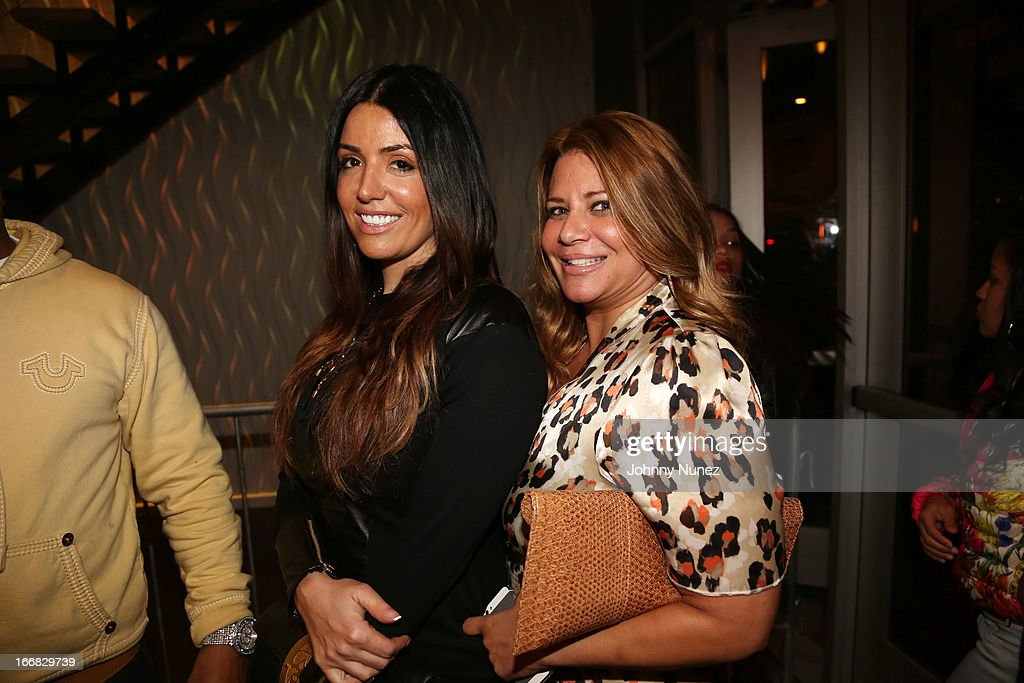 Reality TV personalities RaMona Rizzo and Karen Gravano attend the 2nd Annual DJ Prostyle Birthday Bash after party at Stage 48 on April 16, 2013, in New York City.