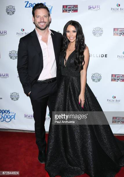 Reality TV Personalities Robert Valletta and Scheana Marie attend the 2nd annual Vanderpump Dog Foundation Gala at Taglyan Cultural Complex on...