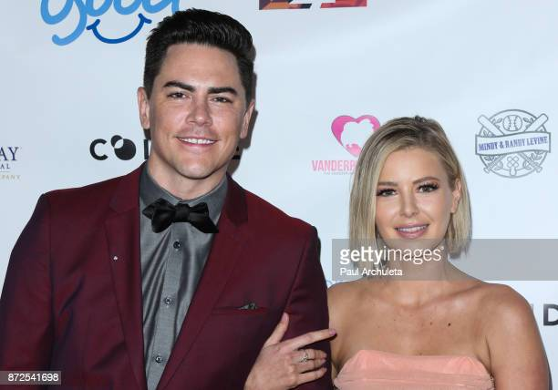 Reality TV Personalities Tom Sandoval and Ariana Madix attend the 2nd annual Vanderpump Dog Foundation Gala at Taglyan Cultural Complex on November 9...