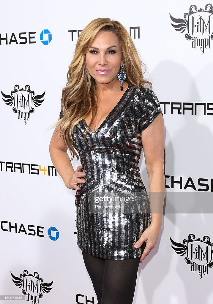 Reality TV Personality Adrienne Maloof attends the 2nd Annual Will.i.am TRANS4M Boyle Heights benefit concert at Avalon on February 7, 2013 in Hollywood, California.