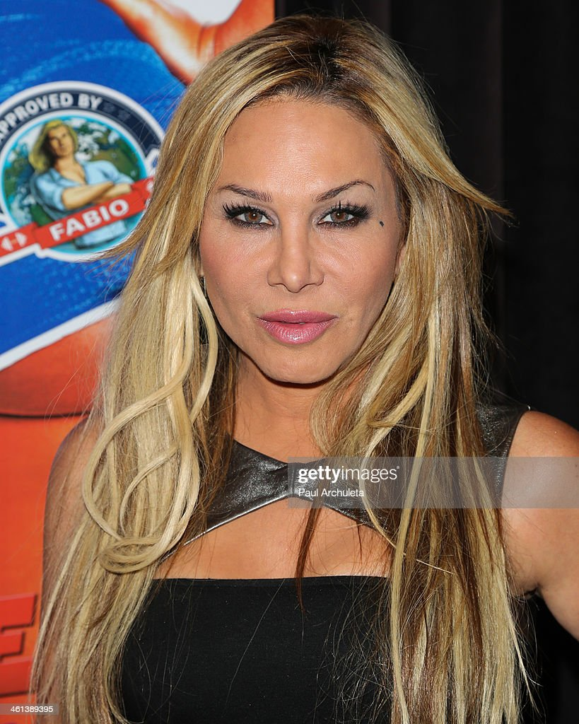 Reality TV Personality Adrienne Maloof attends the 'Dumbbells' premiere at SupperClub Los Angeles on January 7, 2014 in Los Angeles, California.