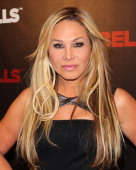 Reality TV Personality Adrienne Maloof attends the 'Dumbells' premiere at SupperClub Los Angeles on January 7 2014 in Los Angeles California